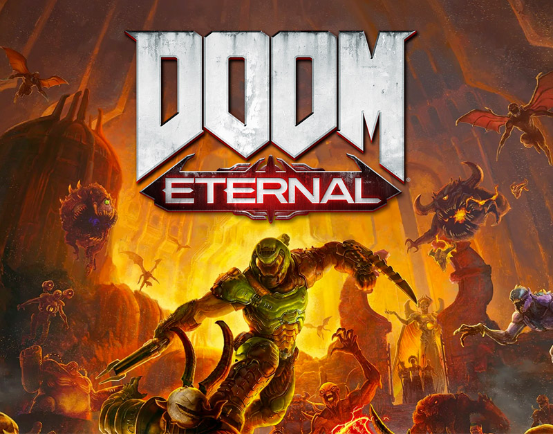 DOOM Eternal Standard Edition (Xbox One), Go Game A Lot, gogamealot.com