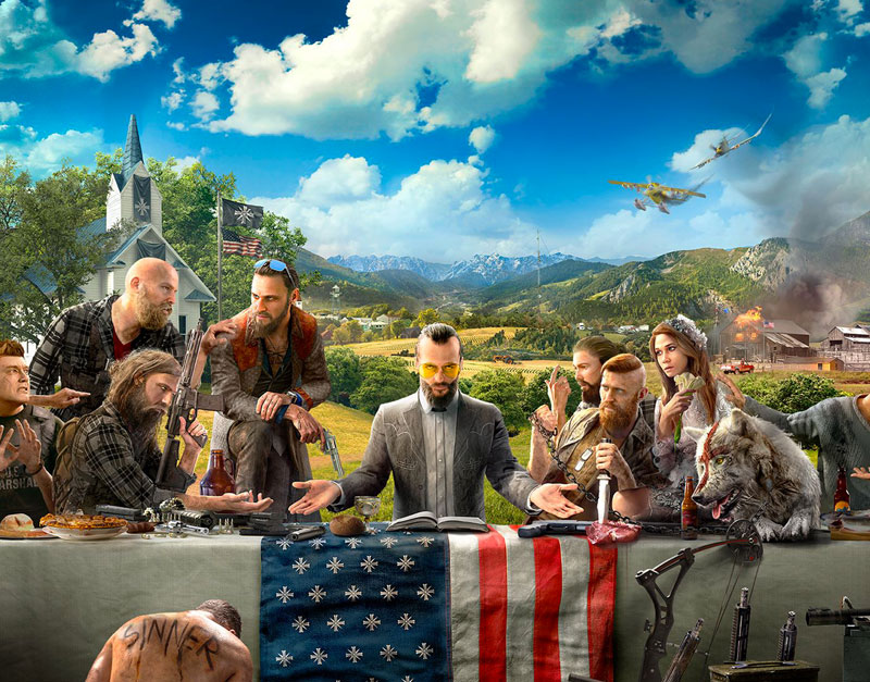 Far Cry 5 - Gold Edition (Xbox One), Go Game A Lot, gogamealot.com