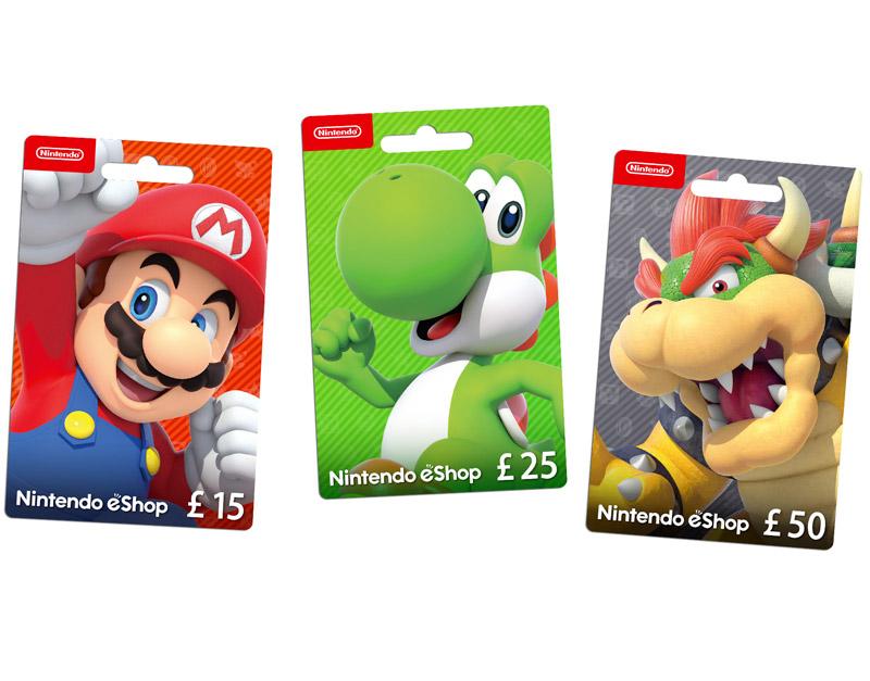 Nintendo eShop Gift Card, Go Game A Lot, gogamealot.com