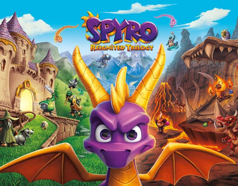 Spyro Reignited Trilogy (Xbox One), Go Game A Lot, gogamealot.com